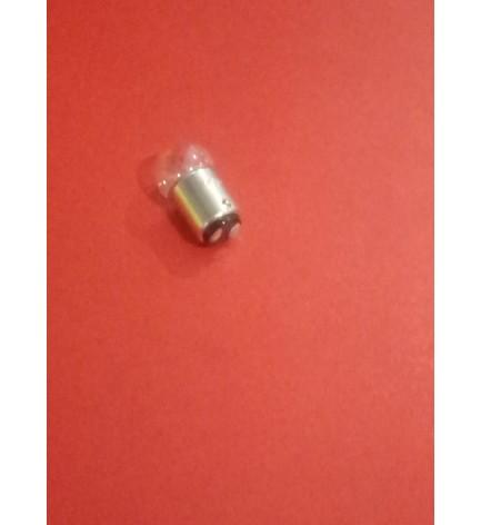 Лампочка заднего фонаря  48В/10Вт (белая) двуконтактная 156558Т / 10550597 T/154710