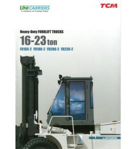 Погрузчик ТСМ 16-23 тонн FD160-2, FD180-2, FD200-2, FD230-2