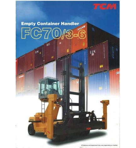 Погрузчик для обработки пустых контейнеров FC70/3-6
