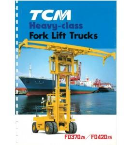 Погрузчики ТСМ для перевозки контейнеров FD370z5/FD420z5